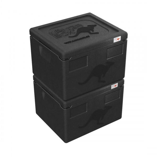 2x KÄNGABOX® Easy - 21 Liter Inhalt