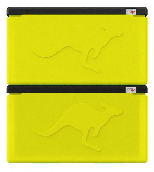 2x KÄNGABOX® Professional GN 1/1 lemon - 48 Liter Inhalt